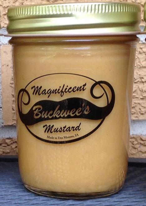 single jar of buckwees magnificent mustard